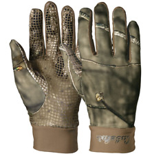 Realtree Camo Skinz Gripper-Dot Hunting Gloves - LARGE