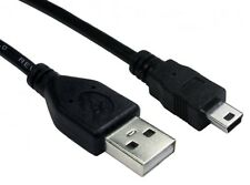 1.8m USB 2.0 MINI USB Cable Sync & Charge Lead Type A to 5 Pin B Phone Charger