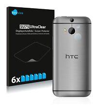 6x Displayschutzfolie HTC One M8 (Kamera Rückseite) Schutzfolie Klar Folie