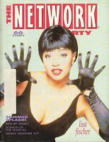 JUNE 14 1991 THE NETWORK FORTY music magazine LISA FISCHER