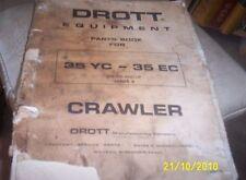 DROTT 1969 35YC 35EC Factory Parts Book