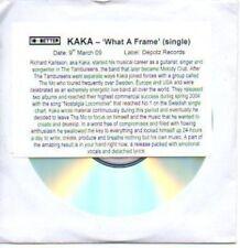 (516H) Kaka, What a Frame - DJ CD