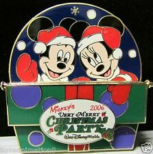 Disney Mickey Mouse and Minnie Mouse with Christmas Gift Artist Proof AP Pin
