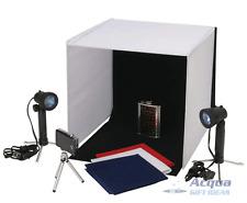 PHOTO STUDIO CUBE LIGHT BOX w/ LIGHTING SET, Backdrops for ebay Online Sellers