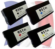 Set 4 cartouche remanufacturées HP950 XL et HP951 XL HP Officejetpro 8600 +