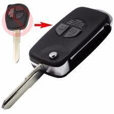 Klappschlüssel UMBAUKIT Schlüssel für SUZUKI Geäuse Rohlingtyp: (HU133R) SMS02