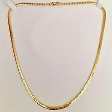 Valore 4.200 euro larghezza catena d'oro Collana 18kt 750er ORO 24,37 grammi
