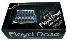 ORIGINAL Floyd Rose Double Locking Tremolo Kit with R2 Nut, CHROME