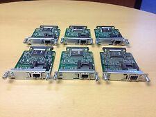 CISCO X6 VWIC-1MFT-E1 JOB LOT bundle x6 Multiflex Trunk Voice WAN CARDS MODULES