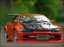 1:12 Tuning Nissan-Silvia Breitbau / Beleuchtungs Car + Fahrbares Modell No.1:18