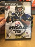NCAA Football 2005 (Sony PlayStation 2) PS2 GAME COMPLETE BLACK LABEL NOTRE