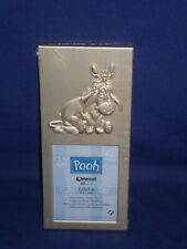 Vintage Disney Pooh's Pal Eeyore Picture Frame by Intercraft 3x6½in Mint c2000