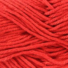 5 x 50g Balls - Patons Cotton Blend - Bright Red #18 - $19.50 A Bargain