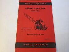NEW OLD STOCK 1953 Homelite Chainsaw 26LCS Instruction Book LOTS More Listed LG5