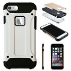 TUFF TOUGH HARD BACK FONE CASE TOUGH ARMOR COVER PROTECT FOR APPLE IPHONE 5 5C 6