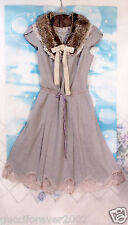 REBECCA TAYLOR Fairytale Lace Dress GORGEOUS Faux Collar  Made in Japan