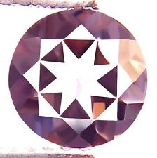 1.02 ct Natural Unheated Superior-Luster Round-cut Pink IF Morganite (Brazil)