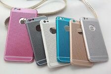 Ultra Slim Lightweight Mesh Hard Plastic Back Case Cover for Apple iPhone 6