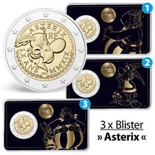 Frankreich - 3 x 2 Euro 2019 Asterix - Obelix Idefix - Satz