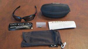 Oakley (4+1) Squared Matte Black Ducati LENSES Glasses Case EXCELLENT Condition