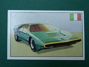 N°135 CARABO ITALIE ITALIA ITALY PANINI 1972 HISTOIRE DE L'AUTOMOBILE