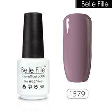 BELLE FILLE DIY Nail Gel Polish Soak-off Top&Base Manicure Art 8ml Color #1579