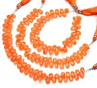 Details about  /Carnelian Shape Pear Briolette Cut Loose Gemstones 9x13MM Length