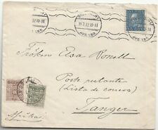 1932 SWEDEN - Morocco  Tangier Postage due Mixed franking Cover Inconnu ettiqu