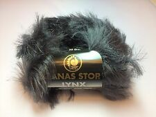 10 St. Lanas Stop LYNX Farbe: 504 Luxuswolle 10x50 Gr. Garn Wolle Pelz Fell