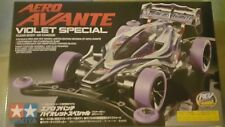 Tamiya 1/32 Mini 4WD Aero Avante Violet Special Clear Body Model Car Kit #95062