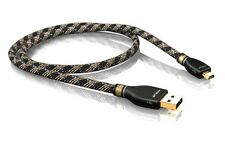Viablue 21055 ARGENTO Cavo USB A/mini B 0,5m (1STK)