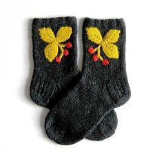 Russian Women's Wool Socks Hand Knitted  Handmade #3