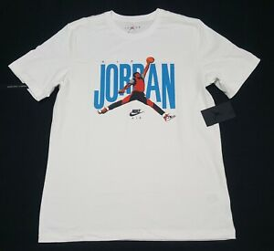 Nike Air Jordan Jumpman 23 Photo Graphic Logo Retro shirt CJ6304 100