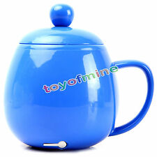 New Electric USB Mug Heater for Tea Coffee Beverage Water Soup Cup Warmer Blue