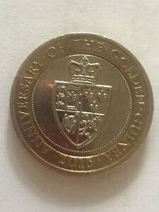 A VERY RARE ERROR £2 Two Pound Coin - 2013 Anniversary of the Golden Guinea