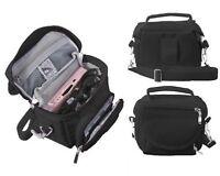 Black Nintendo DS Lite/DSi/DSi XL/3DS/3DS XL Travel Bag Carry Case