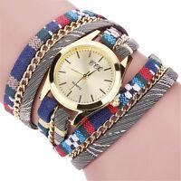 Womens Fashion Bracelet Watch Ladies Stainless Steel Analog Quartz Wrist Watches