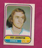 RARE 1975-76 OPC WHA # 105 CIVICS BOB LIDDINGTON ROOKIE EX-MT (INV# A467)