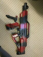 Custom Nerf gun battery operated Stampede ECS Mass Effect N7 Rifle
