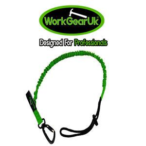 TOOL LANYARD SWIVEL CARABINER 20MM BRAIDED STRAP WORKGEARUK WG-TL03