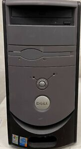 Dell Dimension 3000 Tower Windows 2000 Intel P4 3GHz DVD 40GB HD Cleaned Tested