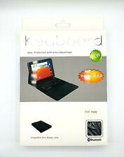 Für Samsung Galaxy Note 10.1 Tablet PC Bluetooth Keyboard Tastatur Tablett Leder
