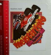 Aufkleber/Sticker: Marlboro Formel 1 - Good Year - Meisterfoto (150316196)