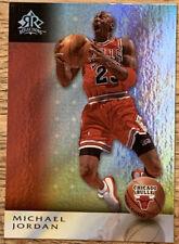 2006 UPPER DECK REFLECTIONS #14 MICHAEL JORDAN RED INSERT CHICAGO BULLS 🔥🔥🔥