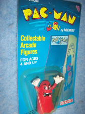 1980 Coleco- Official Pac-Man Arcade Figures- #4506- Blinky