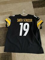 JuJu Smith Schuster Authentic Pittsburgh Steelers Jersey SZ 60. NOT A KNOCKOFF.