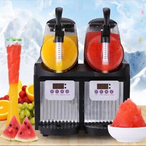 Commercial Frozen Drink Ice Smoothie Small Slush Ice Machine MINI Slush Machine