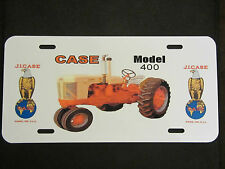 CASE 400 Tractor License Plate
