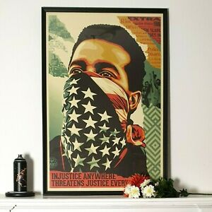 Shepard Fairey (OBEY) - American Rage - Open Edition - SIGNED - 2020