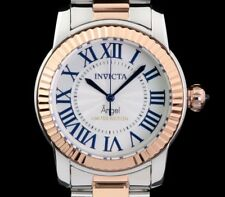 New Ladies Invicta Angel Swiss Cruiseline Two Tone Rose Coin Edge Bezel Watch